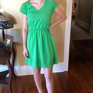Pretty Green Sundress